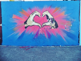 Favourite Bondi street-art (Hi Baa.)